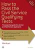 How to pass the civil service qualifying tests eBook