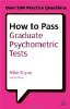Grad psychometric tests