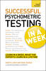 Successful psychometric testing in a week eBook