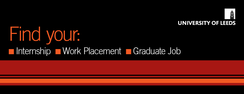 Find your internship, work placement and graduate job